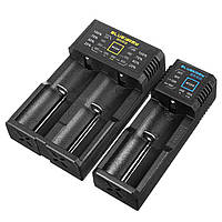 Blue Army N1/N2 Plus Smart Батарея Зарядное устройство с одним двойным слотом для IMR/Li-ion/Ni-MH/Ni-Cd 26650 18650