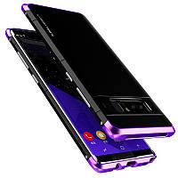 3В1Металлическийбампер+ PC Back Shell Shockproof Чехол Для Samsung GalaxyNote8