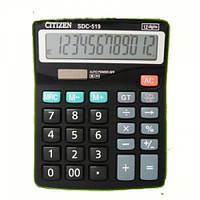 Калькулятор настольный citizen sdc-519, с дополнительными функциями и большим 12-тиразрядным дисплеем