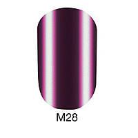 Гель-лак Naomi 6 мл Metallic Collection M28, цвет ― сиреневая фуксия.