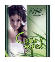 Шампунь для волос и тела Эфф Семь трав 2 в 1 (сошет) - 15 мл.