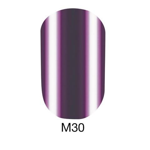 Гель-лак Naomi 6 мл Metallic Collection M30, цвет ― коричнево-бордовая марсала.