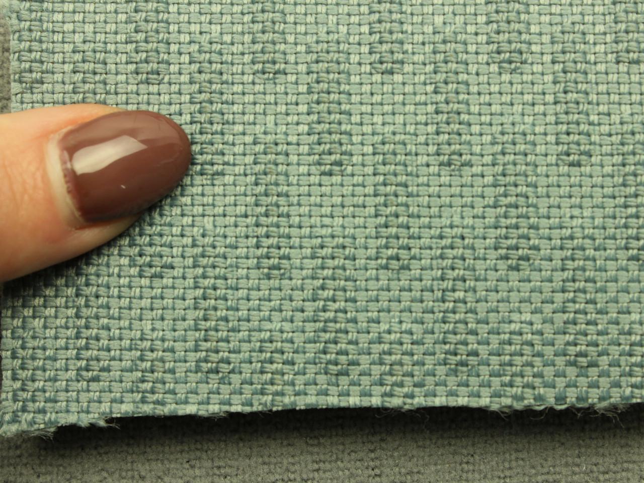 Ткань для сидений автомобиля, цвет светло-серый, на поролоне (для центральной части), Германия