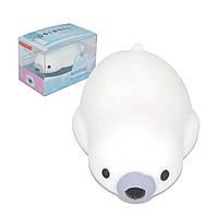IKUURANI Polar Bear Mochi Squishy Squeeze 7.5x4x2cm Оригинальная коллекция коллекций Игрушка для подарка