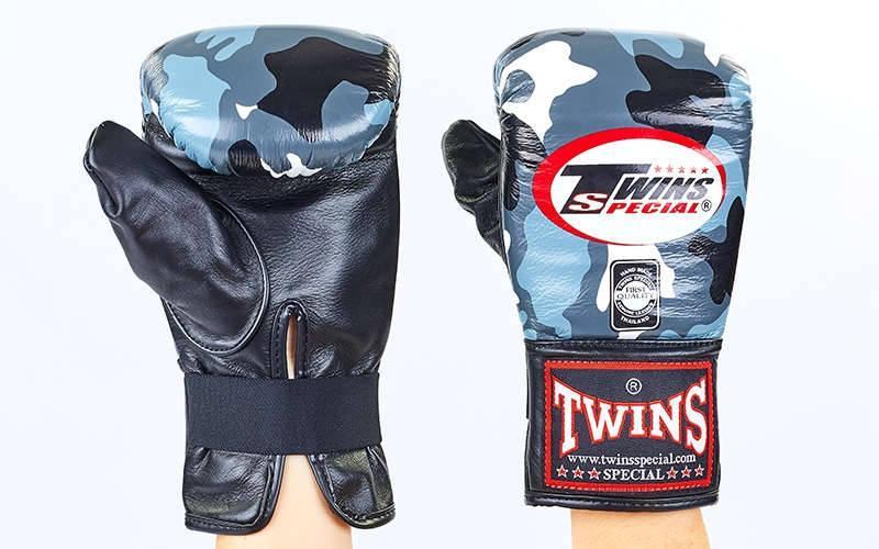 Снарядні рукавички шкіряні TWINS FTBGL-1F-UG-XL
