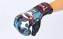 Снарядні рукавички шкіряні TWINS FTBGL-1F-UG-XL, фото 2