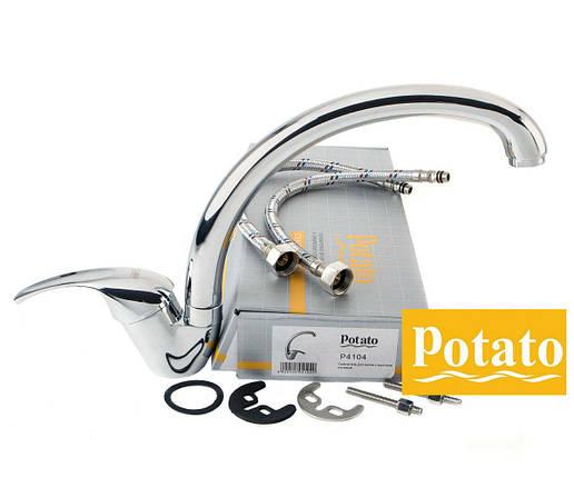Смеситель для кухни POTATOP4104, фото 2