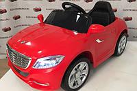 Детский электромобиль Мерседес КХ1338 NEW Премиум, резина, кожа,4 Амортизатора, красный, дитячий електромобіль