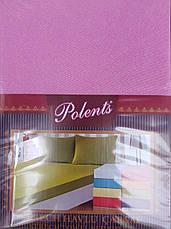 Махровые простыни на резинке с наволочками 70*70. Королевский розовый., фото 3