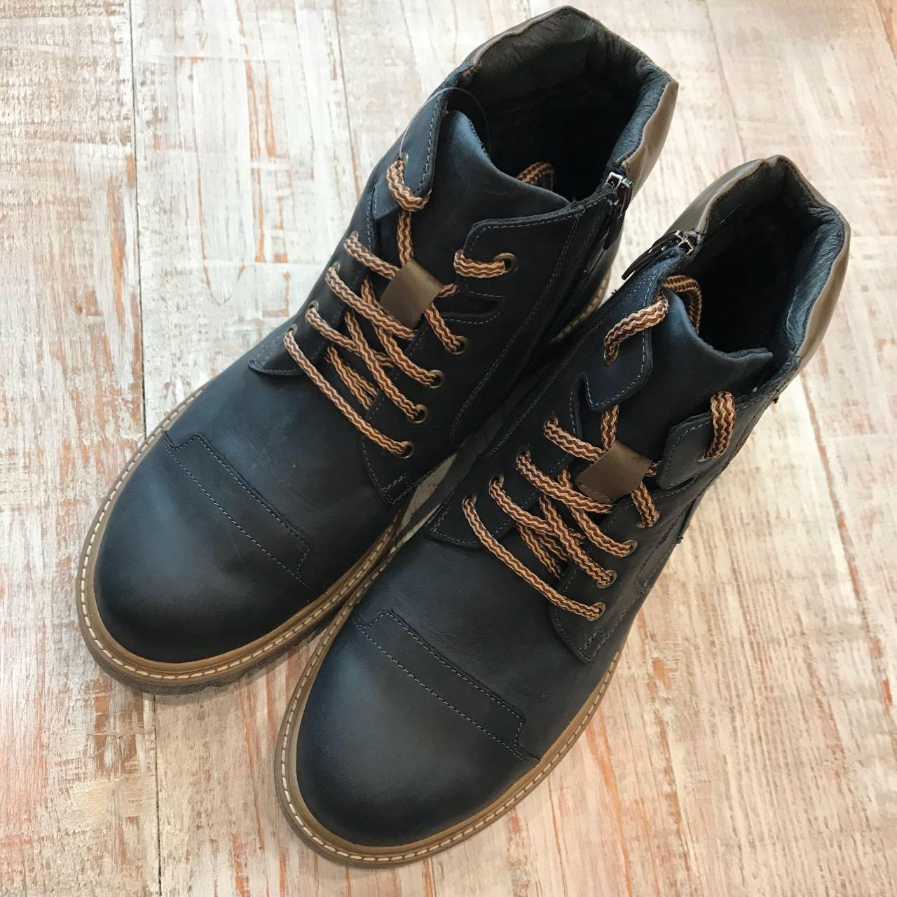 Кожаные зимние ботинки арт 14802 размеры 42 9cccae0707014