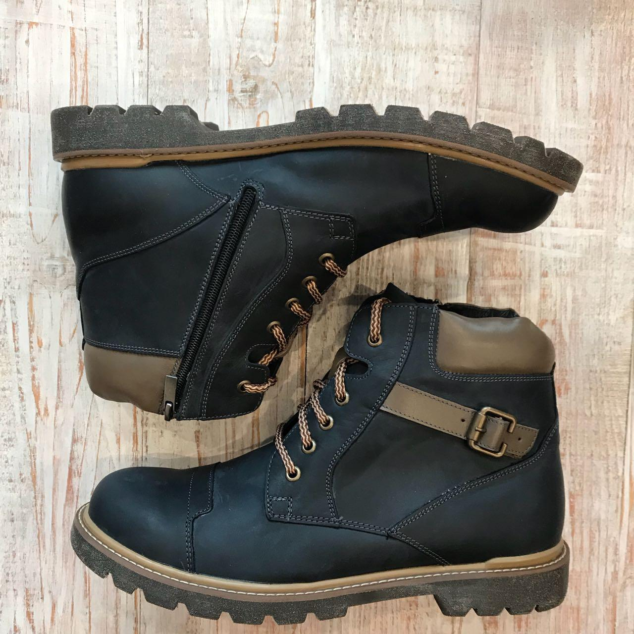 ... Кожаные зимние ботинки арт 14802 размеры 42 efad956f5b2af