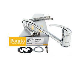 Смеситель для кухни POTATO P4204 , фото 2