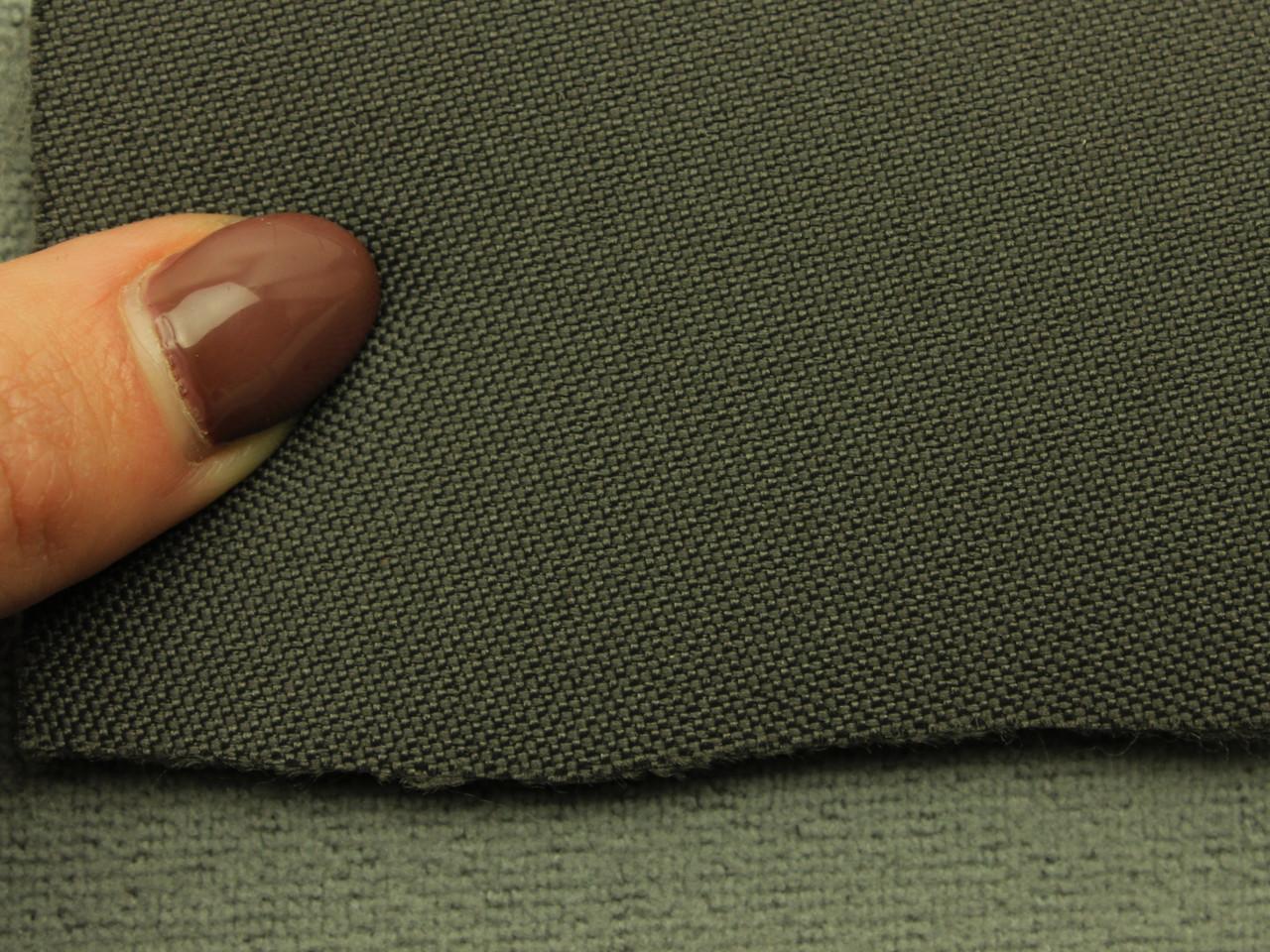 Ткань для сидений автомобиля, цвет темно-серый, на поролоне (для боковой части) Германия