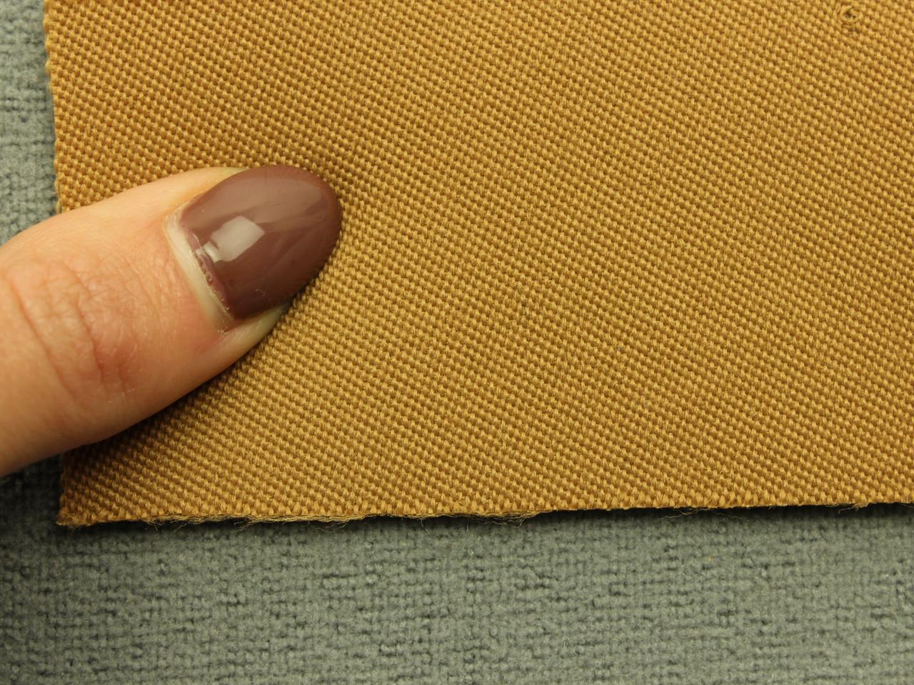 Ткань для сидений автомобиля, цвет бежевый, на поролоне (для боковой части) Германия