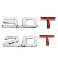 6.5 × 2.4cm 3D ABS Номер 2.0 3.0 Эмблема Авто Стикеры Наклейки Значки Значки