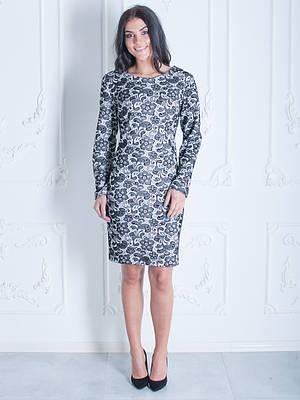 Изящное платье с цветочным узором
