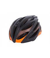 Шлем Green Cycle New Alleycat черно-оранжевый матовый, фото 1