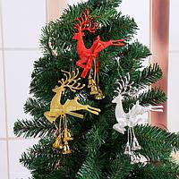 Рождественская елка Украшения Оленьи олени Лось Висячие рождественские блесна Home Party Decor Gift