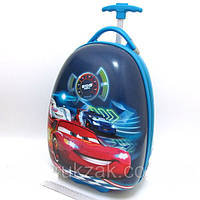 Детский чемодан дорожный на колесах Тачки Cars