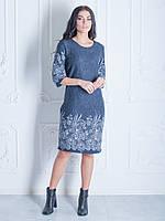 Женственное платье с цветочным узором