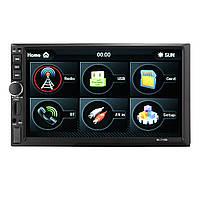 7 дюймов 1080P Bluetooth Сенсорный экран Авто Вид на плеер MP5 камера Поддержка FM/AM/RDS/AUX