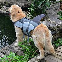 Поплавок для питомцев для животных Собака Lifesaver Safety Shark Safe Vest Swimming Training
