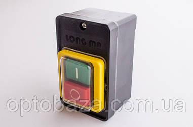 Кнопка Вкл/Выкл 6 крепление с кожухом для бетономешалки