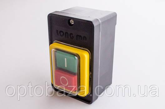 Кнопка Вкл/Выкл 6 крепление с кожухом для бетономешалки, фото 2