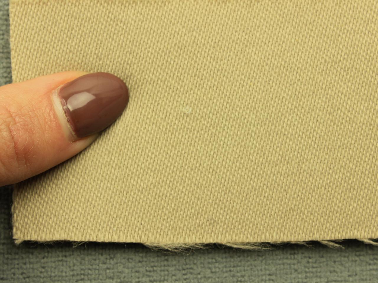 Ткань для сидений автомобиля, цвет темно-бежевый, на поролоне (для боковой части) Германия