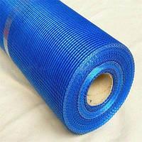 Сетка штукатурная Будпостач 5х5 мм наружная 145 г/м.кв 50 м синяя (WORKS)