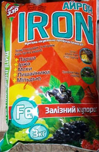 Фунгіцид Айрон IRON 3кг (Сектор ЗЗР)