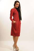 Платье женское Шери вишня
