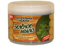 Зеленое мыло таежное для бани и душа Флоресан, 450 г