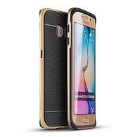 Чехол, бампер iPaky для смартфона Samsung G925 Galaxy S6 Edge (GOLD)