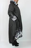 Турецкое зимнее пальто Pompandur 54-58 рр черный