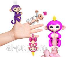 Интерактивная обезьянка на палец Fingerlings