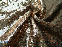 Пайетки № 3 - цвет бежевый - бронза