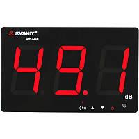 SNDWAY SW-525B Цифровой измеритель уровня звука Измеритель шума Decibel 30 ~ 130dB Large Дисплей Настенный подвесной Тип