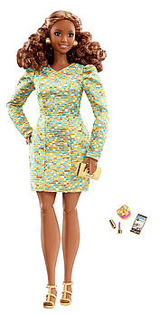 Лялька Барбі Висока Мода (Barbie The Look Metallic Mini Doll)