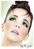 Реснички Light Green Glitter Eyelashes