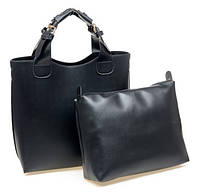 Женская сумка шоппер и органайзер Zara Shopper Ginger  черная