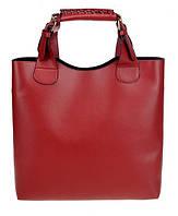 Женская сумка шоппер и органайзер Zara Shopper Ginger  бордовая