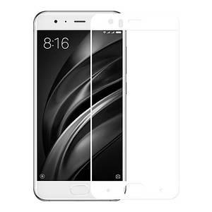 Защитное 3D стекло для Xiaomi Mi6 (White)