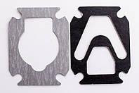 Прокладки комплект (2 шт) под большую V-образную пластину для компрессора