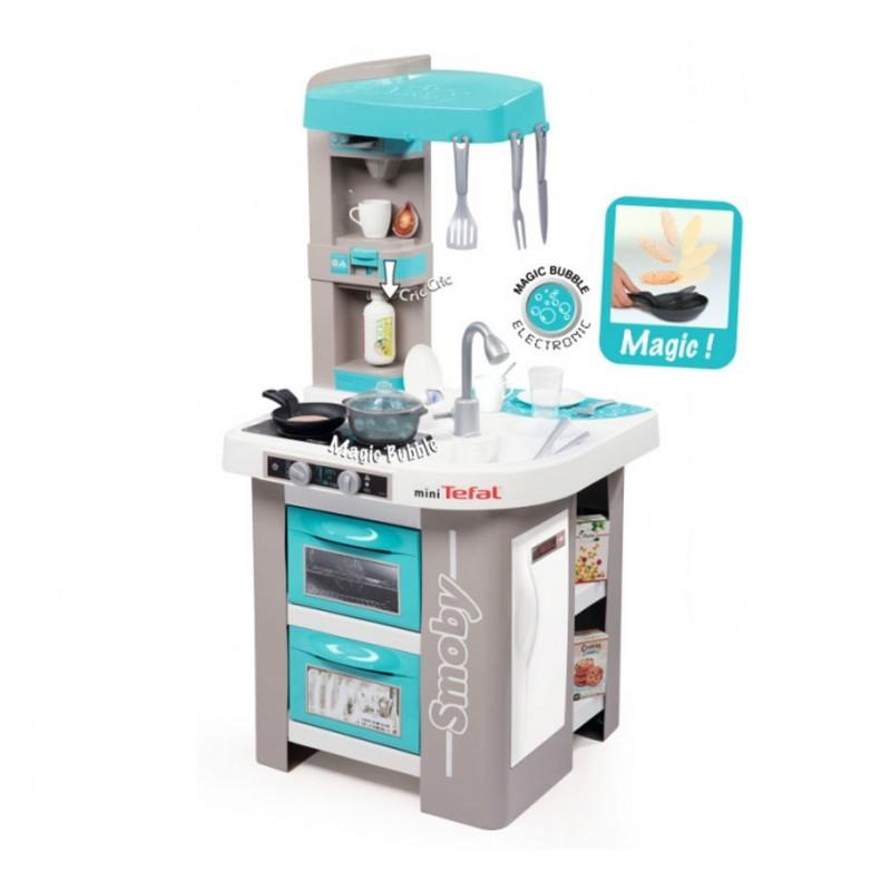 Детская интерактивная кухня Tefal Magic Bubble Smoby 311023