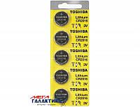 Батарейка Toshiba CR2016 90 mAh 3V Lithium (5903240991037)