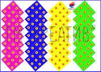 Однотонные банданы с корпоративным логотипом (под заказ от 50 шт)