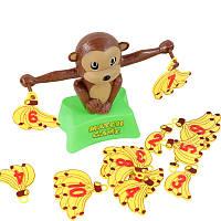 Обезьяна Математическая балансировка Шкала Количество Баланс игры Дети Обучающая игрушка,чтобы учиться добавлять и вычитать