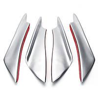 4штУниверсальныйпластиковыйсеребристыйАвтоФронтальный каркас кузова