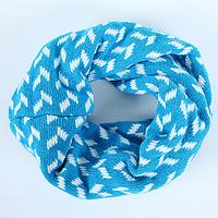 Детский вязаный шарф - хомут